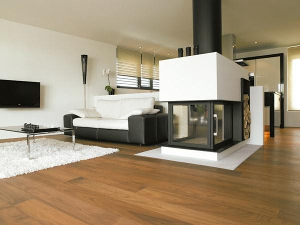 Parkettboden stil und klasse in 130 fotos - Wohnideen wohnzimmer ...
