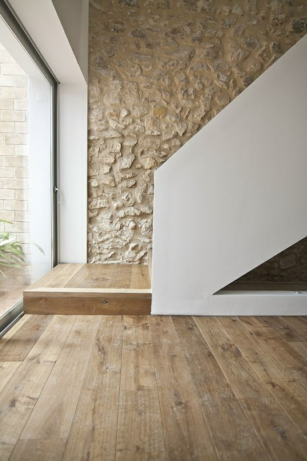 wohnzimmer ideen parkett:Parkett-in-schöner-Farbe-im-Wohnzimmer-