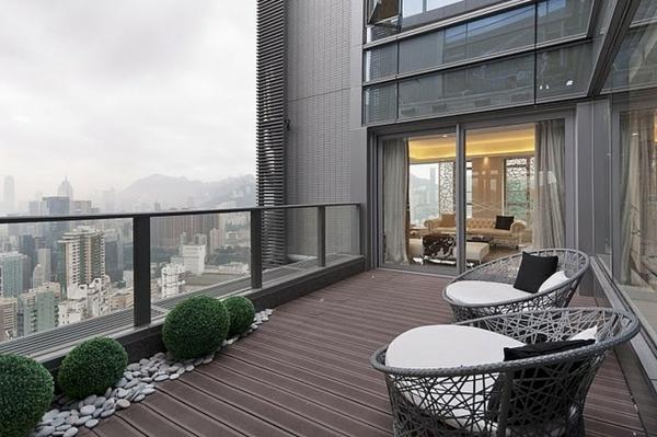 Penthaus Ultra Moderne Und Stilvolle Terrassengestaltung