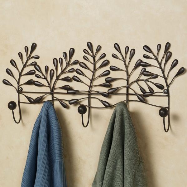 wandhaken-metall-pflanzenmotive