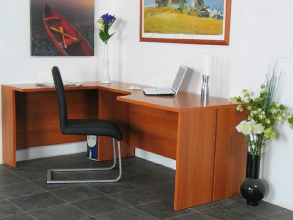 -Schreibtisch-Holz-moderne-Schreibtische-Interior-Design-Ideen