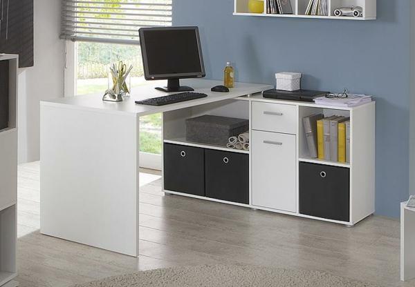 -Schreibtisch-Holz-moderne-Schreibtische-PC-Schreibtisch-Weiss