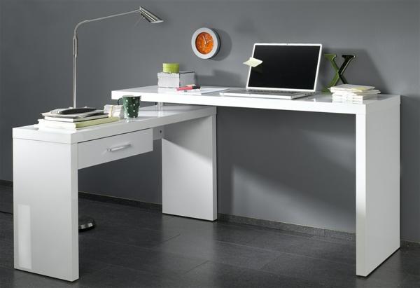 Schreibtisch-Holz-moderne-Schreibtische--in-weißer-Farbe