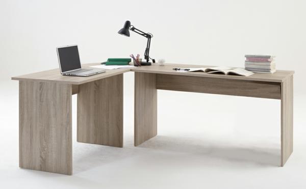Schreibtisch-für-die-Ecke-Schreibtisch-Eiche