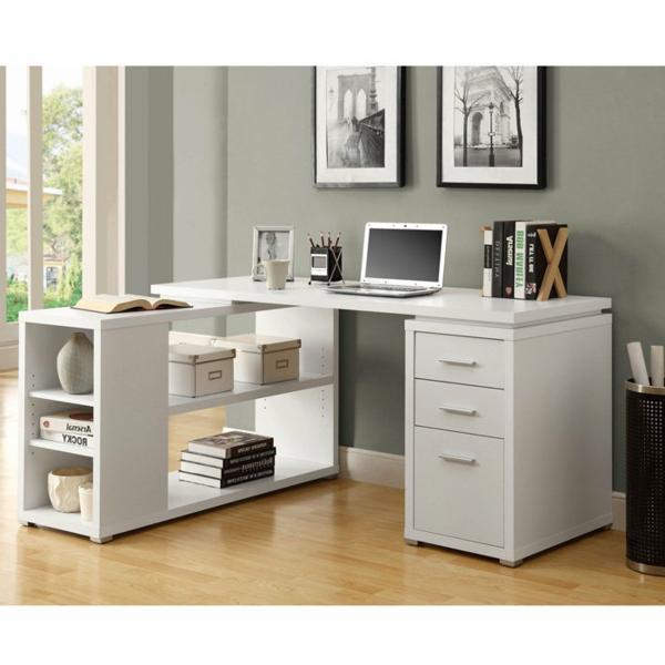 Schreibtisch-für-die-Ecke-Schreibtisch-Weiss-Holz