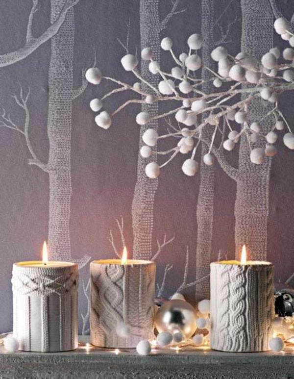 Silvester-Deko- mit-Kerzen-für-eine-gemütliche-Atmosphäre-Tischdeko-Silvester