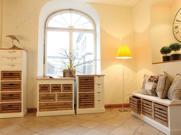 Sitzbank-Flur-fantastisches-Design