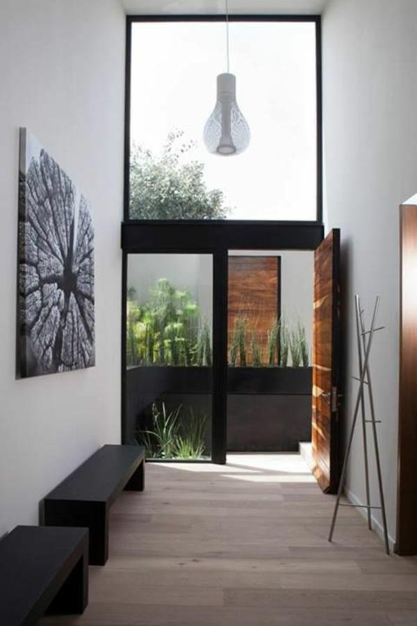 Sitzbank-Flur-originell-gestalten-moderne-Sitzbänke