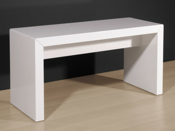 -Sitzbank-Hochglanz-Lack-Sitzbank-Flur-fantastisches-Design