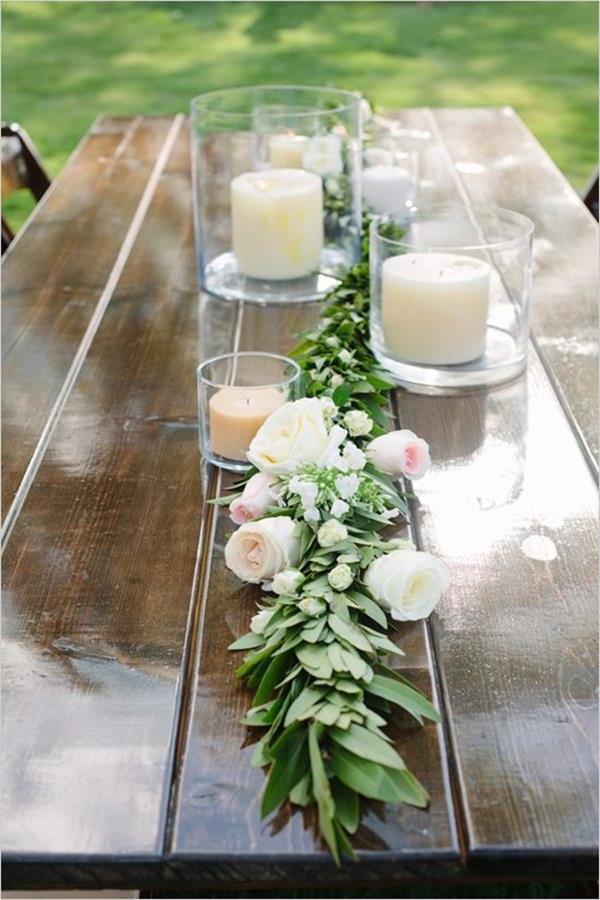Vintage Hochzeit 120 Charmante Dekoideen. Trennwand Moderne Tischdeko ...