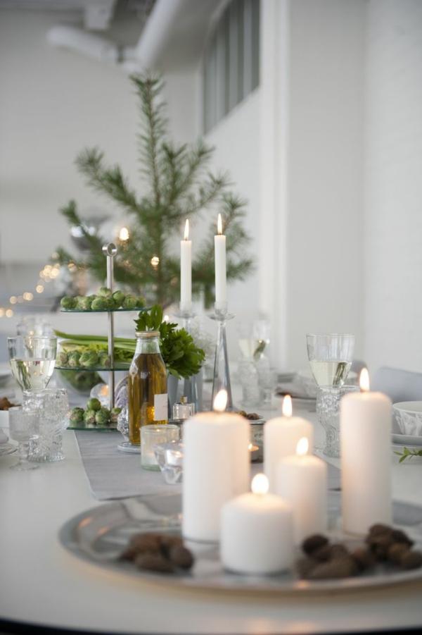 Tischdeko zu weihnachten 100 fantastische ideen - Esstisch deko alltag ...