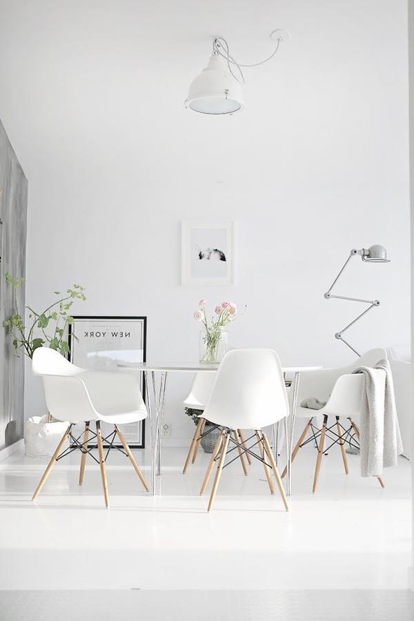 -Wandfarbe-Weiß-für-ein-schönes-Interior-im-Hause-- Wandfarbe Weiß