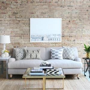 Coole Wandgestaltung fürs Wohnzimmer