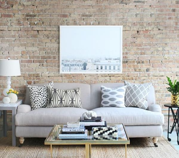 Ideen Burnout Im Wohnzimmer Lool Stil: Coole Wandgestaltung Fürs Wohnzimmer