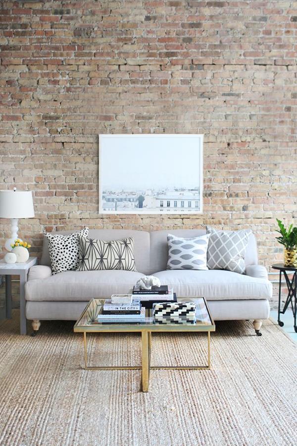 Perfekt Coole Wandgestaltung Fürs Wohnzimmer ...