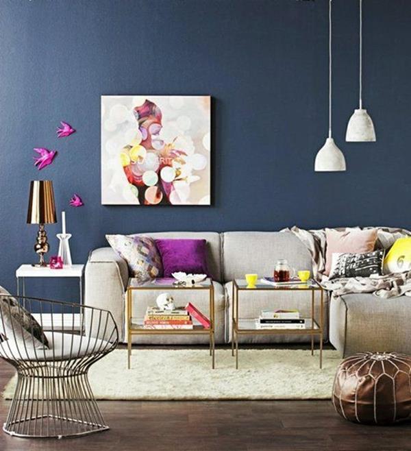 -Wandgestaltung-Wohnzimmer-schöne-Interior-Design-Ideen--