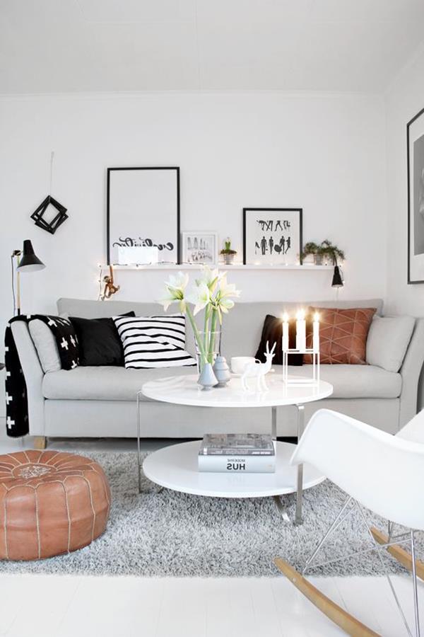 Wandgestaltung-Wohnzimmer-schöne-Interior-Design-Ideen-