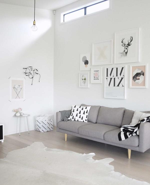 Wandgestaltung-Wohnzimmer-schöne-Interior-Design-Ideen--