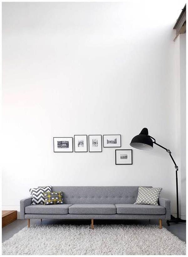 Wandgestaltung-Wohnzimmer-schöne-Interior-Design-Ideen-in-Schwarz-und-Weiß