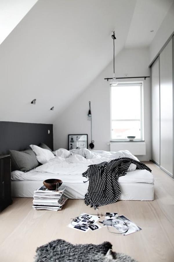 Wandgestaltung-fürs-Schlafzimmer-in-Weiß