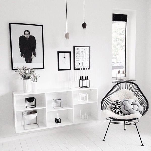 -Wandgestaltung-fürs-Wohnzimmer-in-Weiß