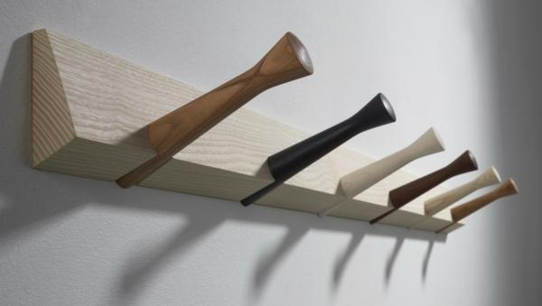 Charmant Wandhaken Holz Tolle Idee