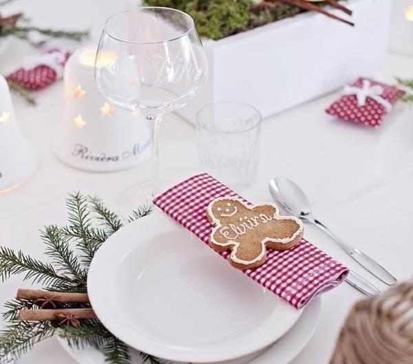 Tischdeko zu weihnachten 100 fantastische ideen for Weihnachtsdeko ideen zum selbermachen