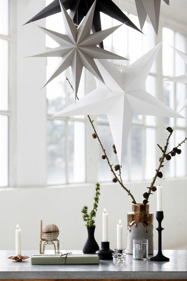 Weihnachtsdeko-für-Tisch-wunderschöne-stilvolle-Ideen-