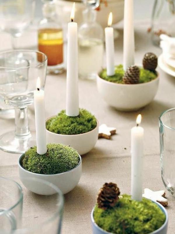 Weihnachtsdeko-für-Tisch-wunderschöne-stilvolle-Ideen