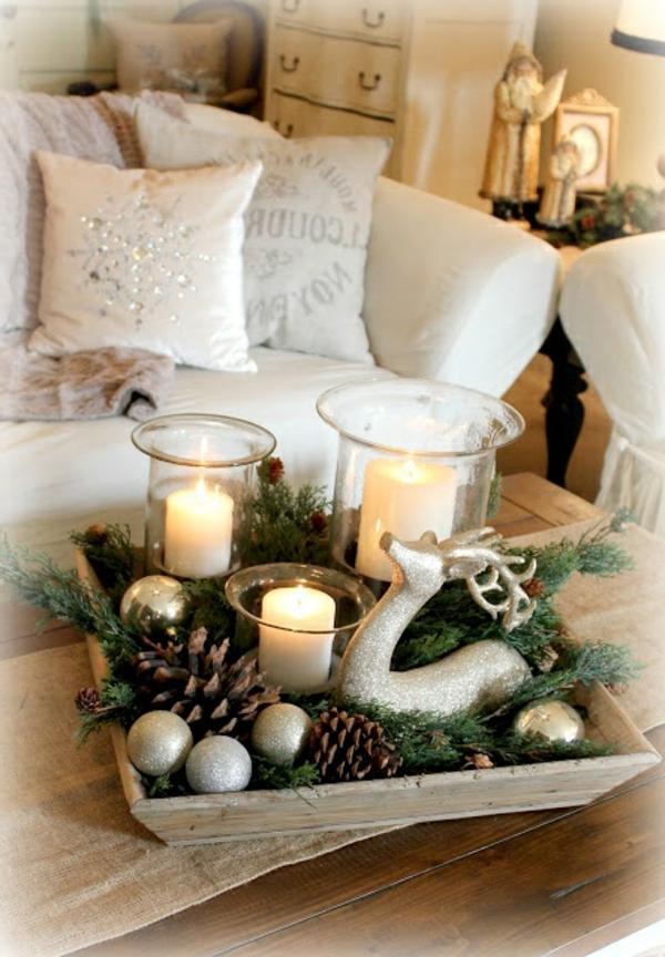 weihnachtsdeko fantastische elegante und stilvolle ideen zur dekoration - Fantastisch Weihnachtsdeko Ideen