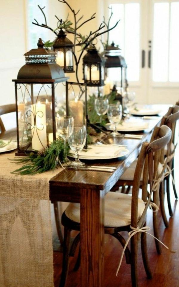 tischdeko zu weihnachten 100 fantastische ideen. Black Bedroom Furniture Sets. Home Design Ideas