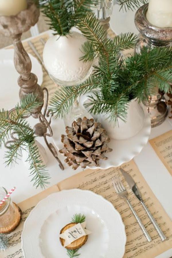 Weihnachtsdeko Günstig Selber Machen.Tischdeko Zu Weihnachten 100 Fantastische Ideen Archzine Net