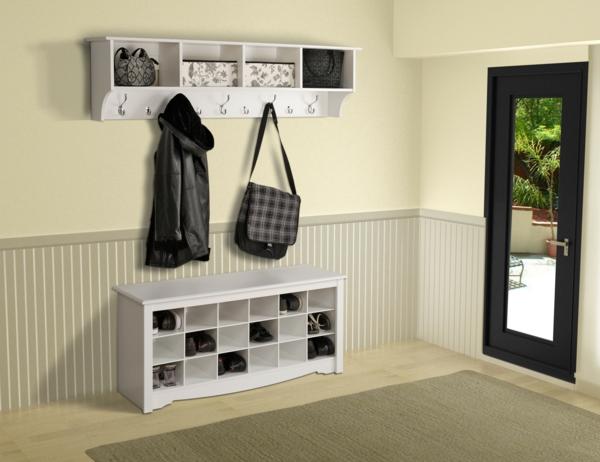Wohnideen-für-Zuhause-Flur-mit-modernen-Möbeln--