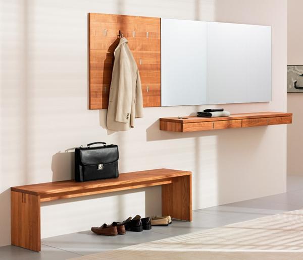Wohnideen-für-Zuhause-Flur-mit-modernen-Möbeln-Luxus-Design