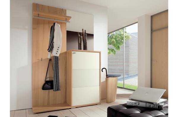 Wohnideen-für-Zuhause-Flur-mit-modernen-Möbeln