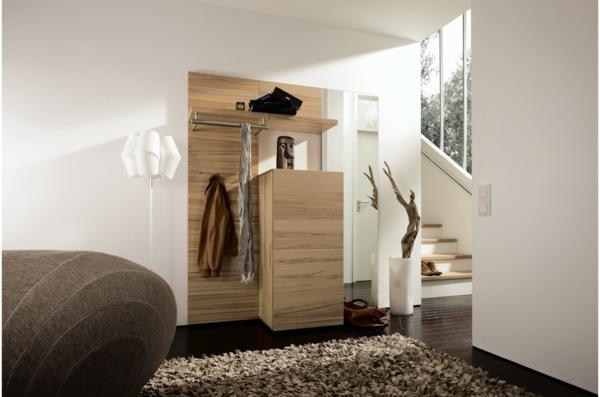 Wohnideen-für-Zuhause-Flur-mit--modernen-Möbeln