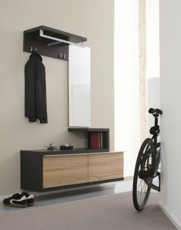 -Wohnideen-für-Zuhause-Flur-mit-modernen-Möbeln