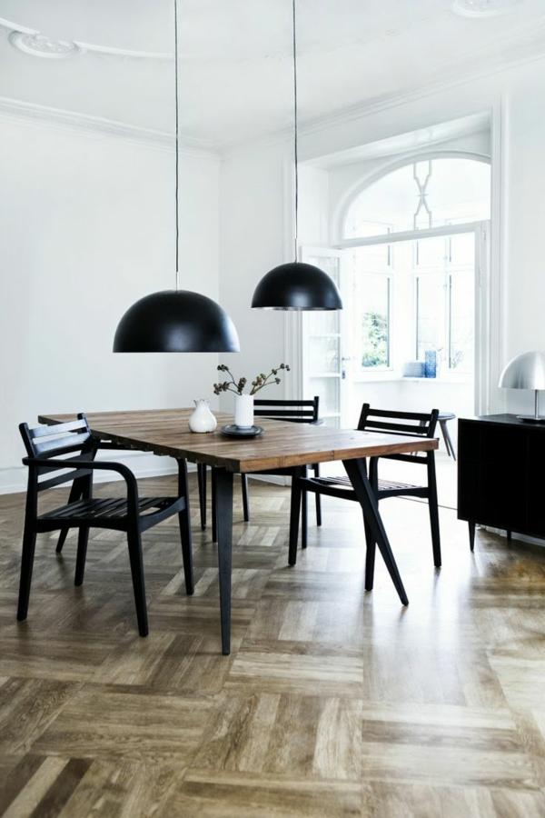 Wohnideen-für-Zuhause-Interior--mit-Holzboden-