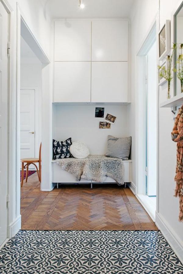 Wohnideen-für-Zuhause-Interior-mit-Holzboden-und-Teppich