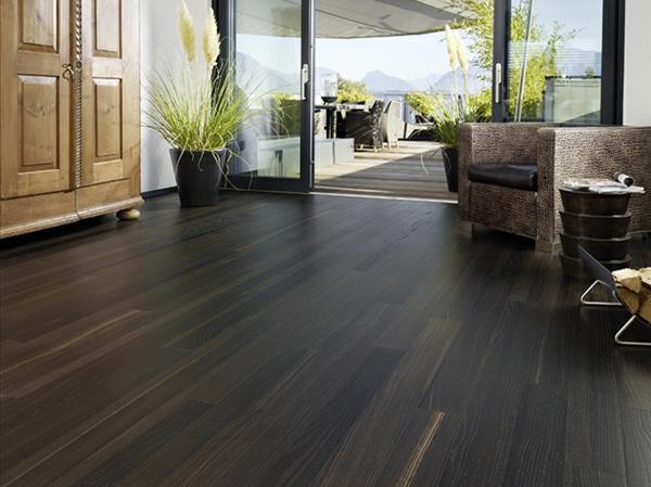 Wohnideen-für-das-Interior-Design-Boden-Holz-dunkel