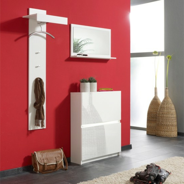 Wohnideen-für-das-Interior-Design-Flurmöbel-in-Weiß