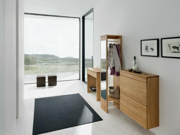 Wohnideen-für-das-Interior-Design-elegante-Flurmöbel
