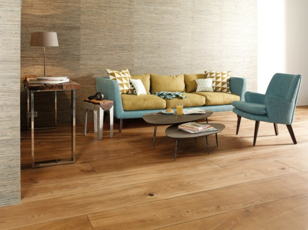 wohnzimmer ideen parkett:Wohnzimmer-Design-Wohnideen-für-Zuhause-Interior-mit-Holzboden
