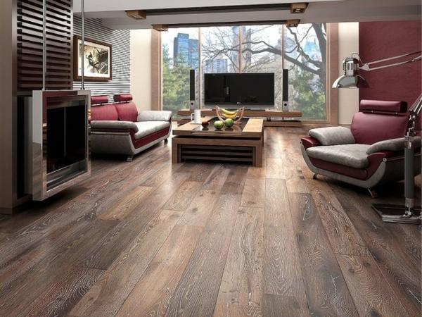 Wohnzimmer-Design-schöne-Wohnung-mit-Parkettboden-tolle-Wohnideen