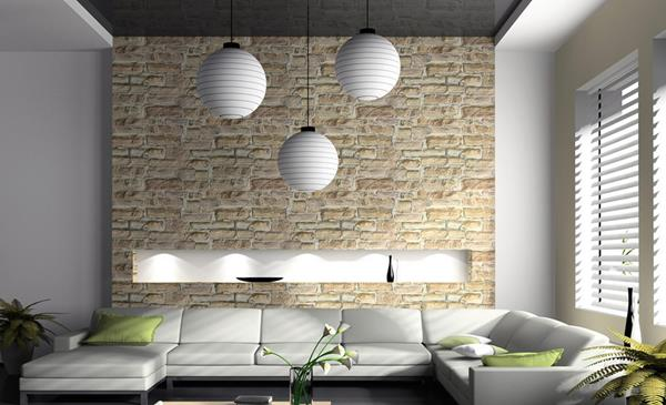 coole wohnzimmer ideen:Interior Design Living Room Wall Tiles
