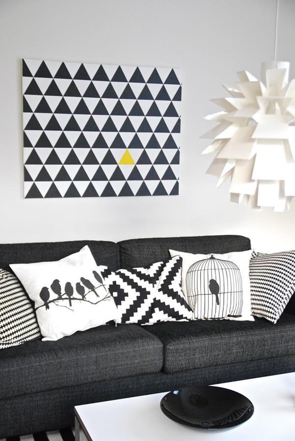 cooles bild wohnzimmer:cooles bild wohnzimmer : cooles Bild mit geometrischem Muster