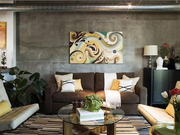 -Wohnzimmer-Wandgestaltung-Ideen-für-Design-und-Dekoration