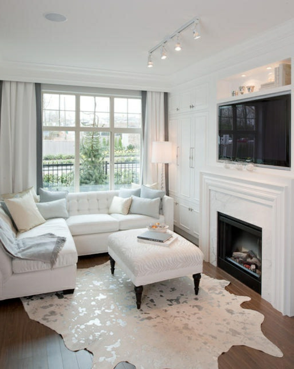 150 bilder kleines wohnzimmer einrichten for Gardinen wohnzimmer design
