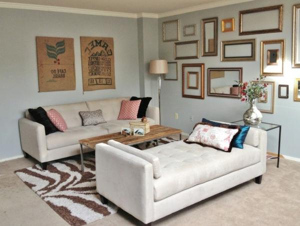 kleines wohnzimmer zwei sofas – Dumss.com
