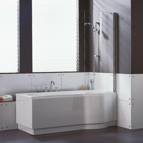 Badewannen Mit Duschzone Und Tur: Begehbare badewanne mit dusche und t ...